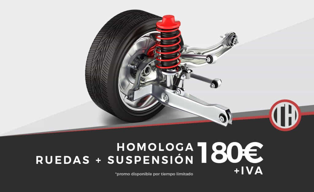 Promo suspension + ruedas
