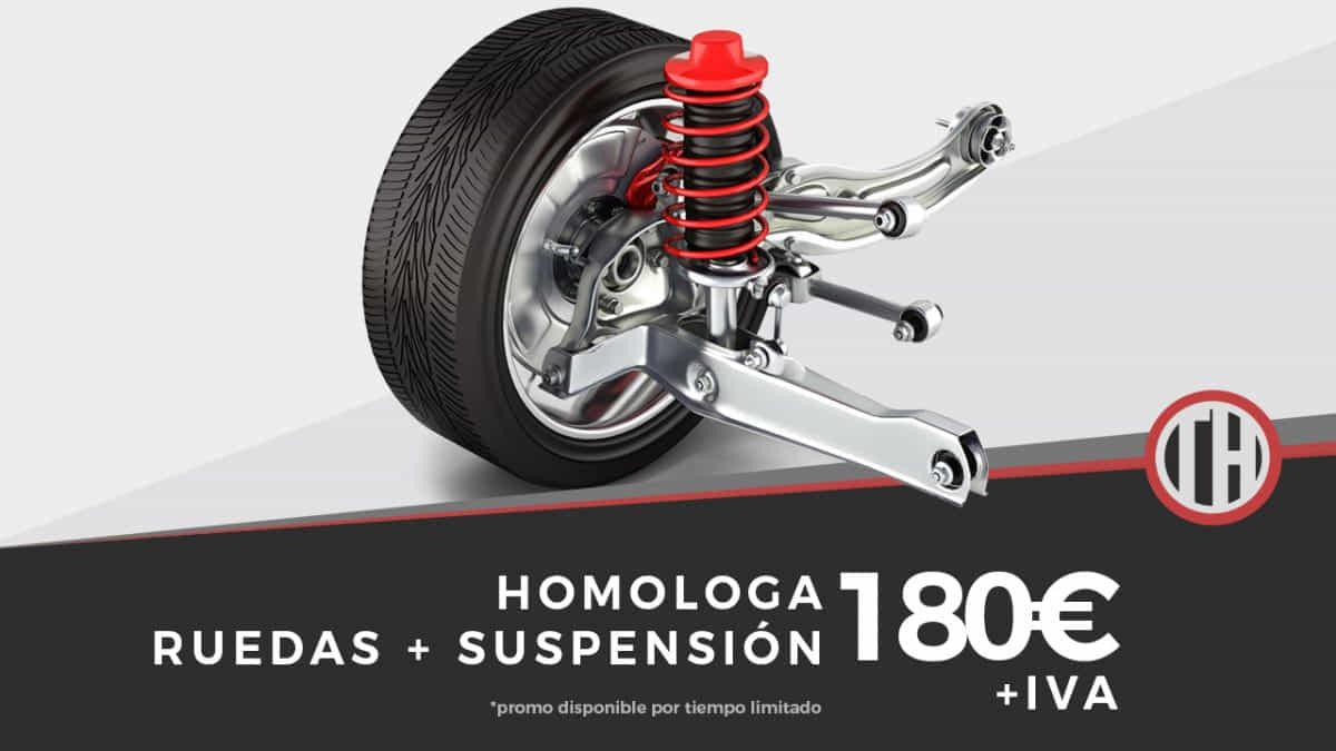 Promo suspension + ruedas