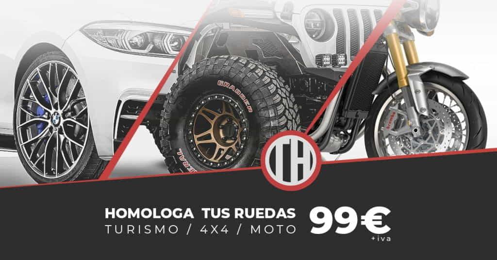 PROMO ruedas 99 €