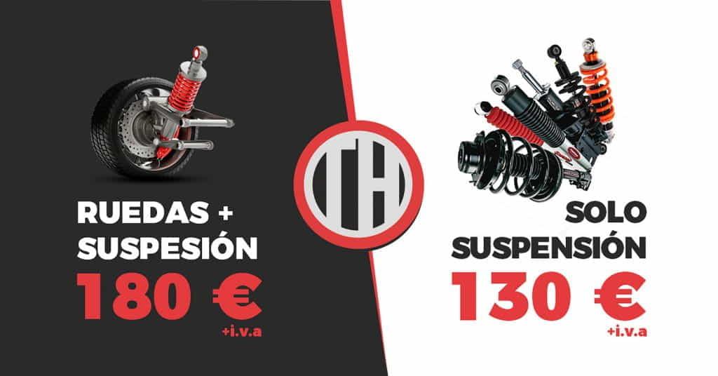 Promo Ruedas + suspension